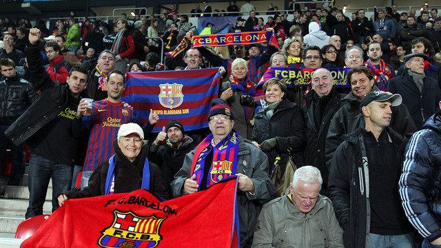 Applications for Spartak-Barça tickets from Monday / PHOTO: ARCHIVE FCB