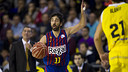 Juan Carlos Navarro, with 21 points, led his team against CB Canarias / PHOTO: ÁLEX CAPARRÓS - FCB
