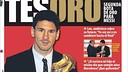Messi, Golden Boot: International Covers