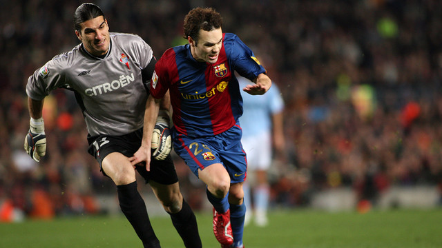 Pinto and Iniesta (Season 2006/07) / PHOTO: FCB