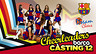 Casting pom pom girls du Bara