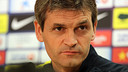Tito Vilanova/ PHOTO: MIGUEL RUIZ - FCB