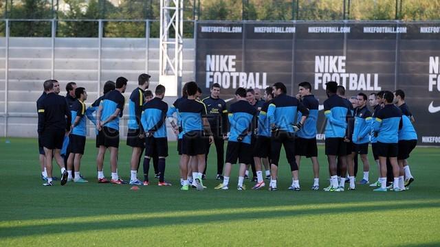 Training session 10/11/12. FOTO: MIGUEL RUIZ-FCB.