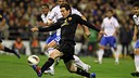 Leo Messi vs Zaragoza - Season 2010/11 / PHOTO: ARCHIVE - FCB