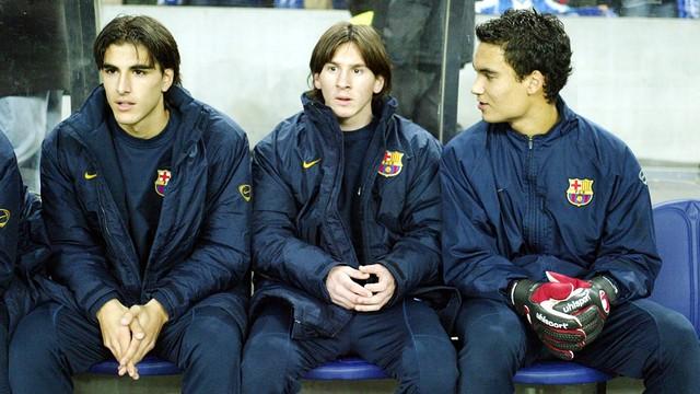 Messi debut
