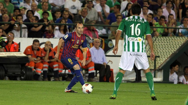 El Betis-Barça in 2011-12 season / PHOTO: MIGUEL RUIZ-FCB