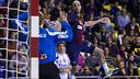Barça Intersport defeat Pick Szeged / PHOTO: ARCHIVE FCB
