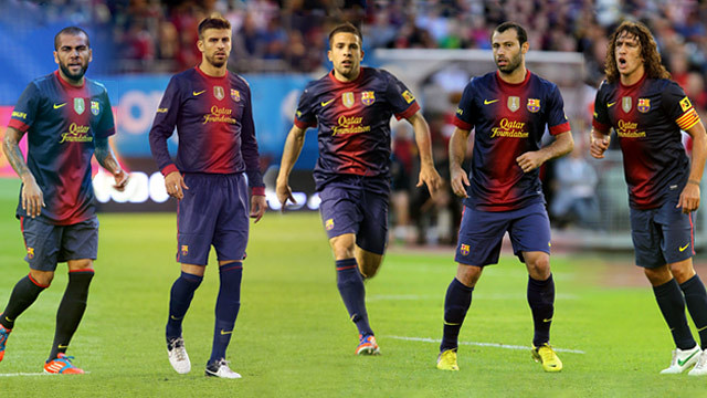 Five FC Barcelona players pre-selected for the FIFA FIFPro 2012 team