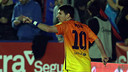 Messi celebra un gol contra el Llevant. FOTO: MIGUEL RUIZ-FCB.