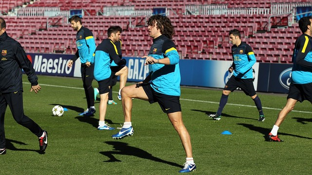 First team at the Camp Nou / PHOTO: Miguel Ruiz - FCB