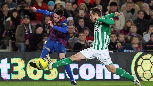 Cuenca vs Betis (2011/12) / PHOTO: ARCHIVE - FCB
