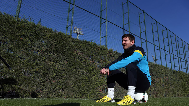 Leo Messi / PHOTO: MIGUEL RUIZ-FCB.