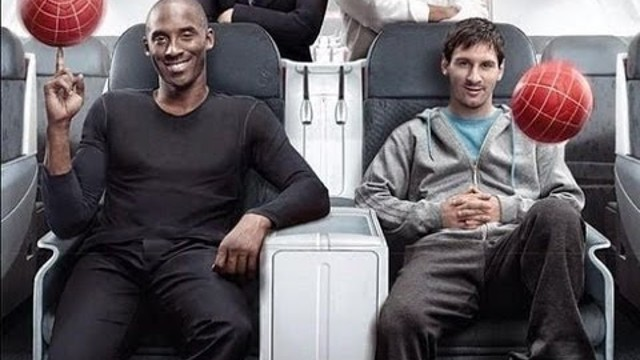 Kobe Bryant and Lionel Messi: Legends on Board