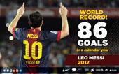 record 86 goals