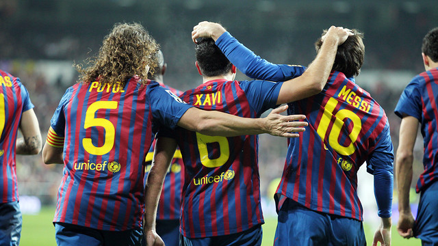 It will be all smiles and happy holidays for everyone at Barcelona as Lionel Messi, Xavi and Carles Puyol all sign new contract extensions with the club.