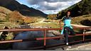 Abidal, durant la seva estada a la Vall d'Aran. FOTO: MIGUEL RUIZ-FCB.