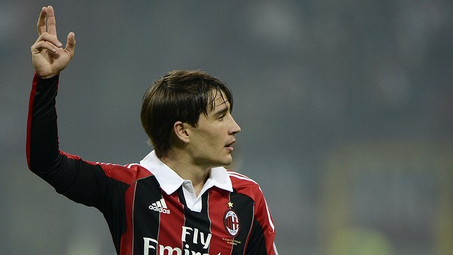 Bojan playing for AC Milan / PHOTO: SPORTEVAI.IT