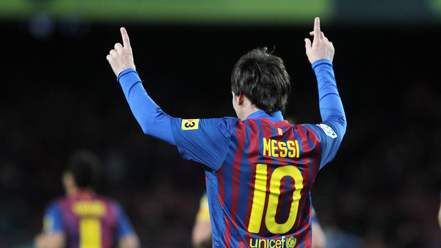 Messi ha batut tots els rcords al 2012 / FOTO: MIGUEL RUIZ-FCB