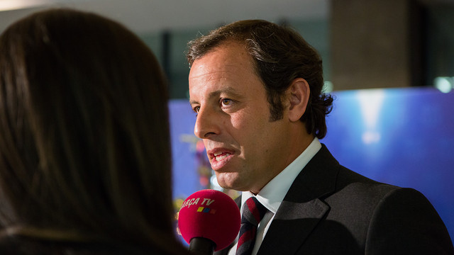 Sandro Rosell / PHOTO: ARCHIVE FCB.