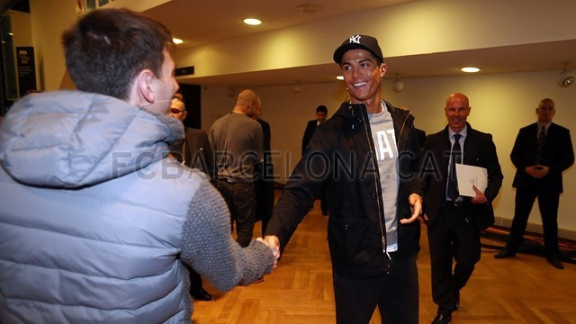 La rueda de prensa de Zurich. FOTO: MIGUEL RUIZ - FCB