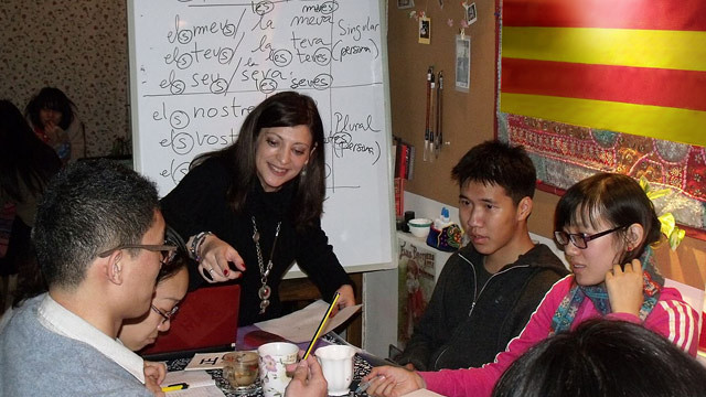 Catalan language classes in Beijing