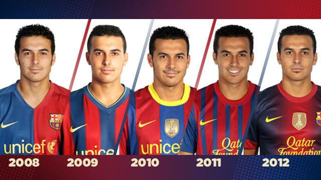 Pedro va debutar fa cinc anys