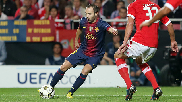 Andrs Iniesta / PHOTO: MIGUEL RUIZ - FCB