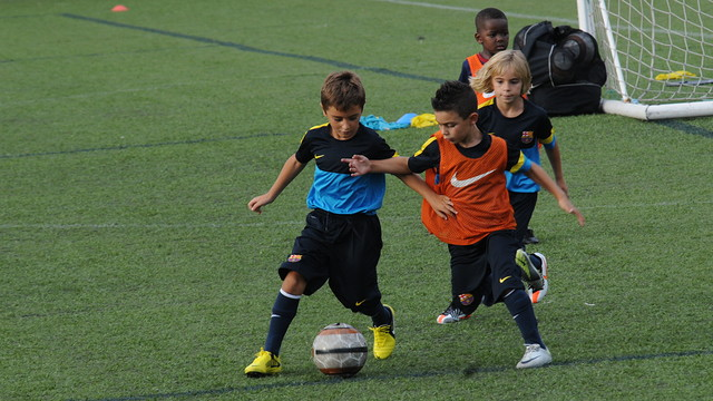 trialists at FCBEscola