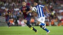 Mascherano vs Real Sociedad / PHOTO: Miguel Ruiz