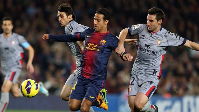 FC Barcelona vs Osasuna / PHOTO: MIGUEL RUIZ - FCB