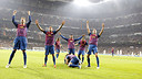 Barça won 3-1 at the Bernabéu in the 2011/12 season / PHOTO: FCB Archive