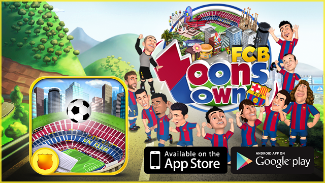 FCB Toons Town, new mobile apps