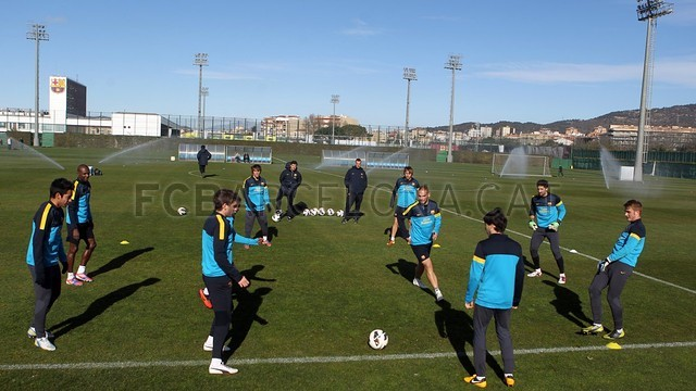 Training session 06/02/2013 / PHOTO: MIGUEL RUIZ - FCB