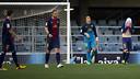 Barça B lost at home to Guadalajara / PHOTO: ÀLEX CAPARRÓS - FCB