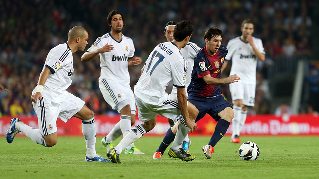 Messi vs. Madrid. PHOTO: MIGUEL RUIZ - FCB