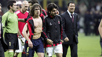Puyol et Gattuso en 2005-2006 / PHOTO: MIGUEL RUIZ - FCB