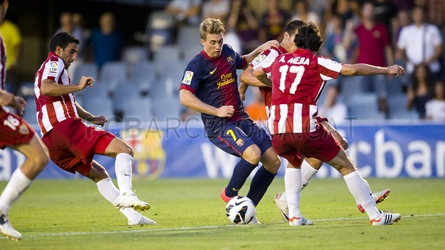 Gerard Deulofeu 2012/13 / PHOTO: FCB ARCHIVE