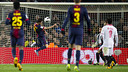 Goal of David Villa PHOTO: ÀLEX CAPARRÓS-FCB.