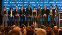 Els guardonats de la segona edició de la Gala de les Estrelles del futbol català / FOTO: GERMÁN PARGA - FCB