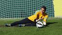 Jordi Masip, en un entrenament / FOTO: MIGUEL RUIZ-FCB.