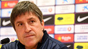 Jordi Roura press conference / PHOTO: MIGUEL RUIZ - FCB