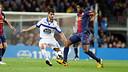 Song va ser un dels jugadors que més va participar contra el Deportivo / FOTO: MIGUEL RUIZ-FCB
