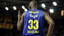 Mickeal, en una imagen en la Euroliga. FOTO: MIGUEL RUIZ - FCB