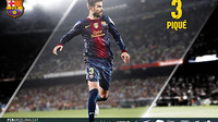 wallpaper featuring gerard pique