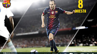 wallpaper featuring andres iniesta