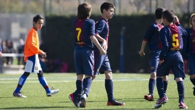 Barcelona youth teams- Top 5 goals of the week - goalz & football