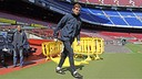 Tito at Camp Nou