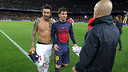 Leo Messi after the game with PSG / PHOTO: MIGUEL RUIZ  FCB
