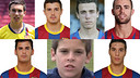 The seven ex-Barça players