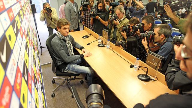 Tito Vilanova press conference PHOTO: MIGUEL RUIZ -FCB